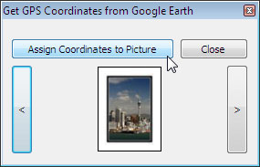 Assign Coordinates to Picture